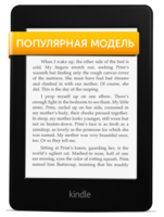Электронная книга Kindle Paperwhite (2012) фото