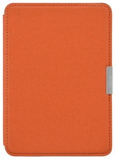 Обложка Leather Cover для Kindle Paperwhite (оранжевый)