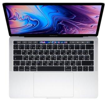 "Ноутбук Apple MacBook Pro 13"" Touch Bar 2019 MUHR2 (Серебристый) 1400 МГц, 256 Гб"