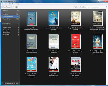 программа для чтения книг Kindle for PC v.1.10.6