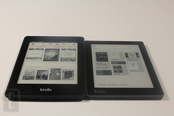 amazon kindle paperwhite ili kobo aura