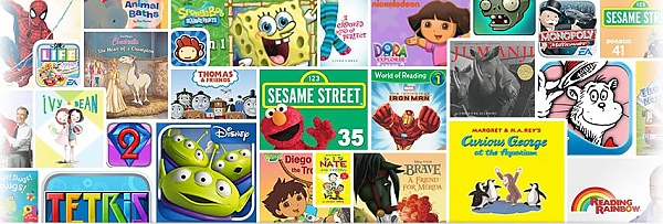 Kindle kids Disney, Warner Bros Interactive Entertainment, Electronic Arts, LEGO