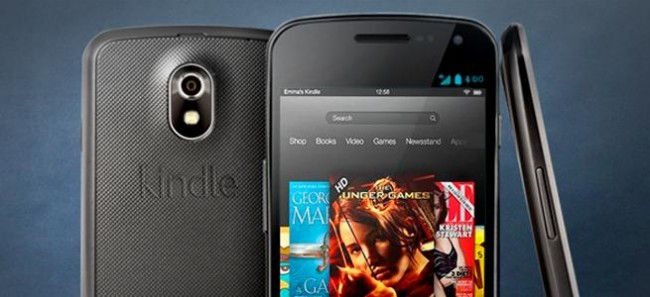 kindle phone 3D